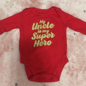 New newborn onesie